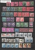 ETATS UNIS: Lot De  112 TP  Oblitérés De 1890 à 1995 - Collections