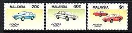 1985 Complete Set Cars MNH (160) - Maleisië (1964-...)