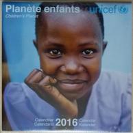 Calendrier Mural Unicef 2016 : Planète Enfants - Childrens' Planet - 30cm X 30cm - Photographies Ethno - Calendriers
