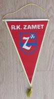 Pennant Handball Club RK Zamet Croatia 21x37cm - Handball