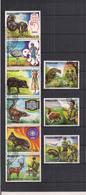 PARAGUAY 1982 75° ANNIVERSARIO DELLO SCAUTISMO YVERT. 1926-1931+POSTA AEREA 897-899 USATA VF - Paraguay