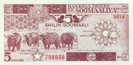 Somalia 5 Shilin, P-31c (1987) - UNC - Somalia