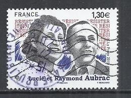 FRANCE 2018 - LUCIE ET RAYMOND AUBRAC - USED OBLITERE GESTEMPELT USADO - France