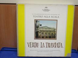 LP114 - COFANETTO 3 LP + LIBRETTO - LA TRAVIATA -RENATA SCOTTO-GIANNI RAIMONDI-ETTORE BASTIANINI- - Opera