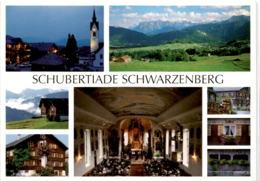Schubertiade Schwarzenberg - Bregenzerwald - 8 Bilder - Bregenzerwaldorte
