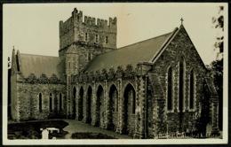 Ref 1256 - Real Photo Postcard - St Brigid's Cathedral - Kildare Ireland Eire - Kildare
