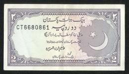 Pakistan BANKNOTE 2 Rupees  Signature Waseem Aon Jafri - Pakistan