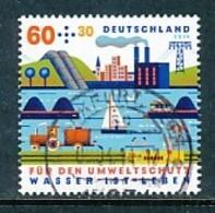 GERMANY Mi. Nr. 3067 Umweltschutz - Wasser Ist Leben - Used - Used Stamps