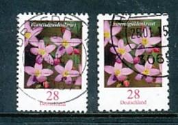 GERMANY Mi. Nr. 3088-3094 Freimarke: Blume - Used - BRD