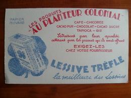 Buvard   AU PLANTEUR COLONIAL Café,chicorée,cacao,chocolat,tapioca,riz - Non Classificati