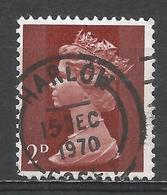 Great Britain 1968. Scott #MH3 (U) Queen Elizabeth II. 15/12/1970 - 1952-.... (Elizabeth II)