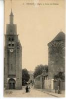 Dpt 77 Nangis Eglise Et Ferme Du Chateau No6 ELD - Autres Communes