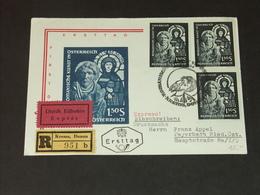 ÖSTERREICH: FDC Ersttag 21.5.1964: Romanische Kunst In Österreich - FDC