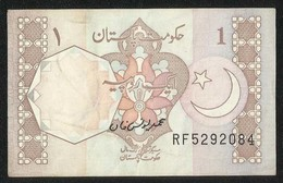Pakistan BANKNOTE 1 Rupees  Signature M.Younus Khan - Pakistán