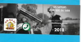 - PETIT CALENDRIER 2018 - LES SAPEURS POMPIERS DU TARN - - Calendriers
