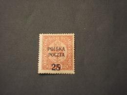 POLINIA - 1919 STEMMA  25su80 - NUOVO(+) - 1919-1939 Republic