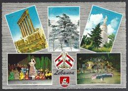 CP Krüger 987/151-Lebanon-Liban, Multivues,drapeau,écusson - Liban