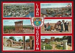 CP Krüger 987/234 - Un Bonjour Du Liban,multivues,armoiries - Liban