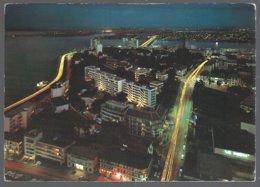CP édit.: Gratry-Cote D'Ivoire, Vue D'ABIDJAN La Nuit - Côte-d'Ivoire