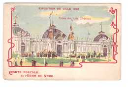 59 Lille Exposition De 1902 Palais Des Arts Liberaux Carte Postale De L' Echo Du Nord - Lille