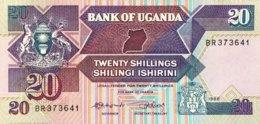 Uganda 20 Shillings, P-29b (1988) - UNC - Ouganda