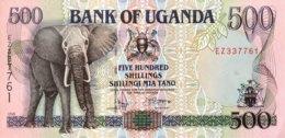 Uganda 500 Shillings, P-35b (1998) - UNC - Ouganda