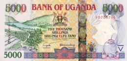 Uganda 5.000 Shillings, P-44b (2005) - UNC - Ouganda