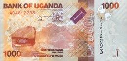 Uganda 1.000 Shillings, P-49a (2010) - UNC - Ouganda