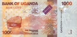 Uganda 1.000 Shillings, P-49a (2010) - UNC - Uganda