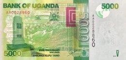 Uganda 5.000 Shillings, P-51a (2010) - UNC - Ouganda