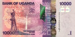 Uganda 10.000 Shillings, P-52a (2010) - UNC - Ouganda