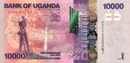 Uganda 10.000 Shillings, P-52a (2010) - UNC - Uganda