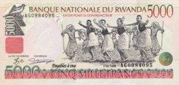 Rwanda 5.000 Francs, P-28 (1.12.1998) - UNC - Ruanda