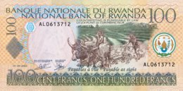 Rwanda 100 Francs, P-29b (1.9.2003) - UNC - Rwanda