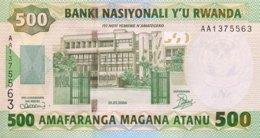 Rwanda 500 Francs, P-30 (1.7.2004) - UNC - Ruanda