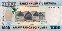 Rwanda 1.000 Francs, P-39 (1.5.2015) - UNC - Rwanda