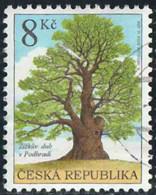 Tchéquie 2004 Yv. N°378 - Chêne De Ziska à Podhradi - Oblitéré - Tchéquie