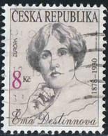 Tchéquie 1996 Yv. N°112 - Europa - Ema Destinnova - Oblitéré - Tchéquie