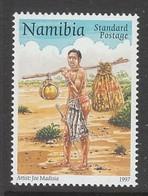 TIMBRE NEUF DE NAMIBIE - JOURNEE MONDIALE DE LA POSTE : MESSAGER GERMAIN D'AFRIQUE DU SUD-OUEST N° Y&T 813 - Poste