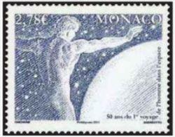 """Monaco YT 2798 """" 1er Homme Dans L'espace """" 2011 Neuf** - Monaco"""