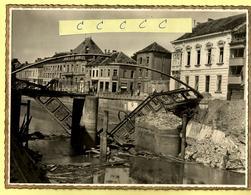 Originele Foto GERAARDSBERGEN 1940 - Vernielde Brug WO II (afmetingen 23x17 Cm) - 2 - Geraardsbergen