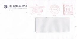 30996. Carta BARCELONA 1996. Franqueo Mecanico FUTBOL Club Barcelona. BARÇA - 1931-Aujourd'hui: II. République - ....Juan Carlos I