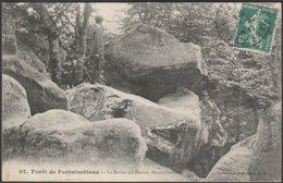 La Roche Qui Remue, Forèt De Fontainebleau, 1910 - Léon Ménard CPA - Fontainebleau