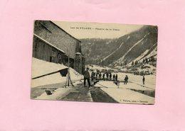 Carte Postale - Lac De SYLANS - Récolte De La Glace - D01 - France