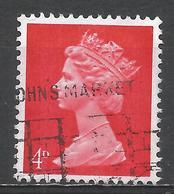 Great Britain 1969. Scott #MH7 (U) Queen Elizabeth II - 1952-.... (Elizabeth II)
