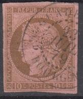 #133# COLONIES GENERALES N° 18 Oblitéré Gd Bourg (MG) (Guadeloupe) - Cérès