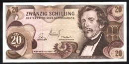Austria 20 Shillings 1967 Schilling Osterreich Scellini - Poco Circolata - Austria