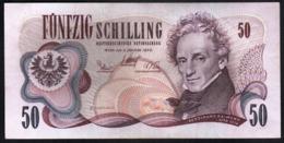 Austria 50 Shillings 1970 Schilling Osterreich Scellini - Poco Circolata - Austria