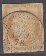 #133# COLONIES GENERALES N° 19 Oblitéré Petit-Bourg (Guadeloupe) - Cérès