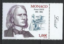 """Monaco YT 2803 """" Franz Liszt """" 2011 Neuf** - Monaco"""
